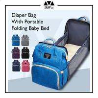 Tas Ransel Ranjang Bayi / Diaper Bag / Mommy Bag / Tas Bayi Anello