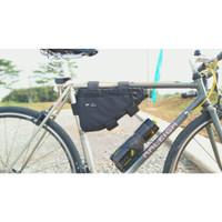 HONEYBADGEAR Frame Sling Bag Tas Sepeda - Hitam