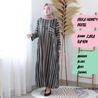 ORKA HOMEY DRESS Baju Atasan Muslim Wanita Gamis Dress Fashion Outfit