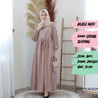 ARASA MAXI Baju Atasan Muslim Wanita Gamis Dress Fashion Outfit Muslim
