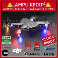 ✅ READY! LAMPU LED KEDIP DRONE DJI Mavic Air Mini Spark Hubsan Fimi - NYALA Putih