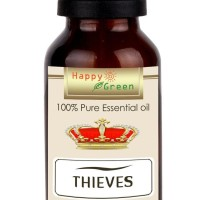 Ready Stock Happy Green Original Thieves Essential Oil 30 Ml - Minyak
