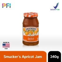 Smuckers Apricot Spread Jam 340g Selai Aprikot