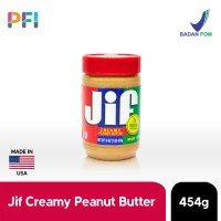 JIF Peanut Butter 454g Selai Kacang