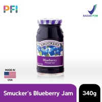Smuckers Blueberry Jam Spread 340g Selai Blueberry