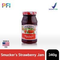 Smuckers Strawberry Jam Spread 340g Selai Strawberry