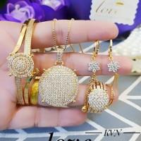 Xuping set perhiasan lapis emas 24k b1060
