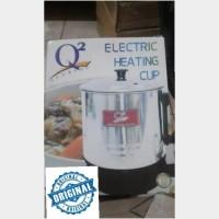 MUG Teko LISTRIK STAINLESS Q2 15 cm Pemanas Air Heater