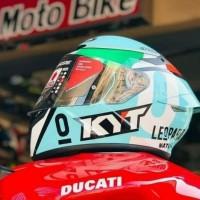 Helm Kyt Tt Course Dalla Porta Leopard Ttc Locatelli Dalla
