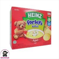 HEINZ Farleys Biskuit Bayi 1 to 3 Tahun Apel 120 g