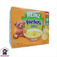 HEINZ Farleys Biskuit Bayi 1 to 3 Tahun Jeruk 120 g
