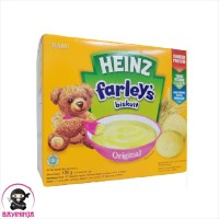 HEINZ Farleys Biskuit Bayi 1 to 3 Tahun Original 120 g
