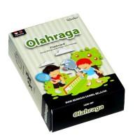 Mainan Edukasi Anak Konsep Flash Card Kartu Pengetahuan Olahraga Sport