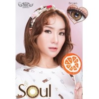 Softlens SOUL By Dream Color 1 (-0.25 s.d -9.50) Harga Satuan/Sebelah