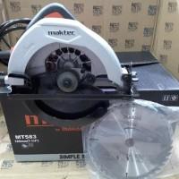 Original Mesin Potong Kayu Circle Circalar Saw Maktec MT583 MT 583