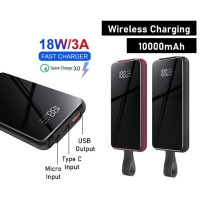 REMAX Tangee Series Wireless Power Bank 10000mAh RPP-105