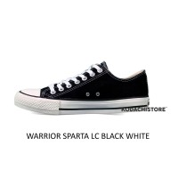 Sepatu Warrior - Sepatu Warrior LC Sparta Black White