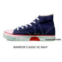 Warrior Classic HC Navy - Sepatu Warrior HC Navy
