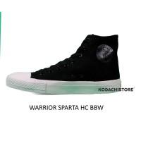 Warrior Sparta HC - Sepatu Warrior HC Sparta Black Black White - BBW