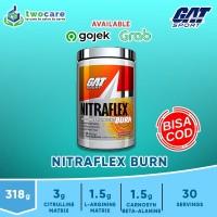 GAT NITRAFLEX BURN 30 SERVING PRE WORKOUT + FAT BURNER