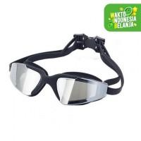 Kacamata Renang HD Anti Fog UV Protection Ruihe Swimming- Merah Muda