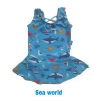 Baju Renang Bayi Perempuan 1 - 2 Tahun