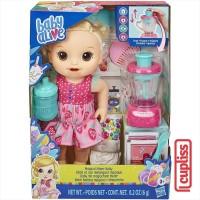 BABY ALIVE Magical Mixer Strawberry Blonde Hasbro E6943 Boneka