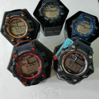 jam tangan digital BBQI 95 water proff garansi sampai 30 metet - Putih