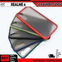 Realme 2 3 5 5i 5s 6 7 7i Pro C12 C17 Narzo 20 Case Matte Bumper Candy