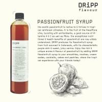 Dripp Passionfruit Syrup - Sirup Rasa Markisa