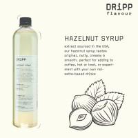 Dripp Hazelnut Syrup - Sirup Hazelnut