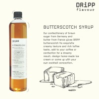 Dripp Butterscotch Syrup
