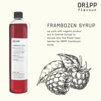 Dripp Frambozen Syrup - Sirup Frambozen