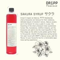 Dripp Sakura Syrup