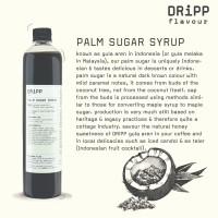 Dripp Palm Sugar Syrup
