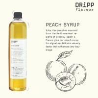Dripp Peach Syrup - Sirup Persik