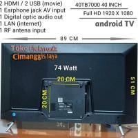 SMART TV LED COOCAA 40 INCH DIGITAL TERMURAH