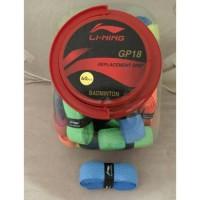 Original Grip Badminton Lining GP 18 - Karet Tebal Murah
