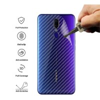 Asus Zenfone Max Pro M1 M2 Garskin Carbon Fiber Sticker Back Skin Cove
