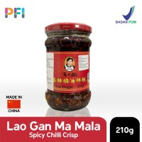 Spicy Chili Crisp Lao Gan Ma 210g Mala Sauce
