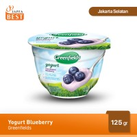 Greenfields Yogurt Blueberry 125 gr