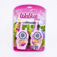 Mainan Anak Walkie Talkie Barbie Princess Hate HT Pink