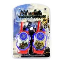 Mainan Anak - Walkie Talkie Hate Transformer Autobot Merah Telepon