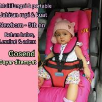 Baby Carseat MyBeeBaby sebagai Alas Stroller Car Seat Bayi Portable