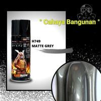 Samurai Paint Honda Matte Grey H749* H 749* Abu2 Abu Abu Doff Dof Matt