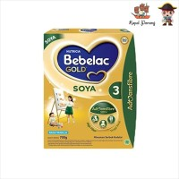 Bebelac Gold Soya 3 Vanilla Susu Formula [700 g]
