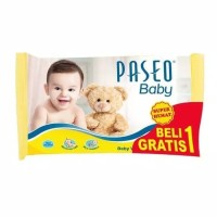 Paseo Tissue Basah Baby Wipes Pillow Bag 10's(buy 1 get 1 free)