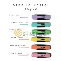 Stabilo Joyko Highlighter - Pastel Color