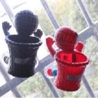 Boneka / Action Figure Spiderman Dengan Keranjang Barang Plastik