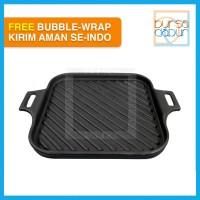 Cast Iron Hot Plate Grand - GRD-SQ245 - Grand Pan Grill 245 x 245 mm
